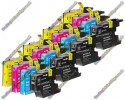 4 Set of Premium Quality High Capacity Brother LC1280 / LC1240XL / LC1220XL Compatible Multipack Ink Cartridges (404ml)