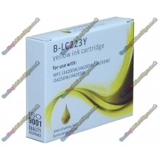 High Quality Compatible Brother LC223 Yellow Ink Cartridge With Chip (10ml)
