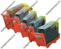 1 Set of Premium Quality Canon Compatible BCI-3eBK + BCI-6 (Pack of 5)