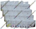 4 Set of High Quality Canon Compatible PGI-520 / CLI-521 Multipack Ink Cartridges with Chip (20)