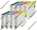 2 Set of Premium Quality T0615 Compatible Multipack Ink Cartridges for Epson - T0611->T0614