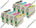 2 Set of Premium Quality T1295 Compatible Multipack Ink Cartridges for Epson - T1291->T1294