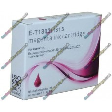 High Quality Extra High Capacity 18XL T1813 Compatible Magenta Ink Cartridge for Epson