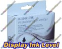 High Quality Compatible HP 364XL High Capacity Photo Black Ink Cartridge with Chip show Ink Level 15ml