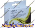 High Quality Compatible HP 364XL High Capacity Yellow Ink Cartridge with Chip show Ink Level 15ml